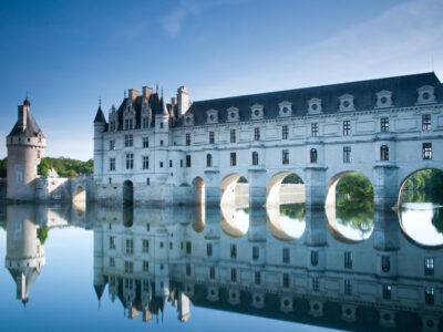 The chateau of Chenonceau in the Loire Valley