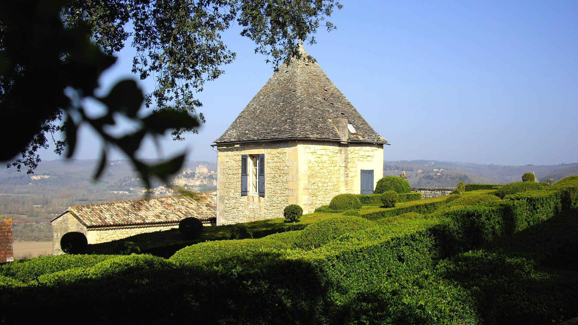 The Marqueyssac gardens in the Dordogne region