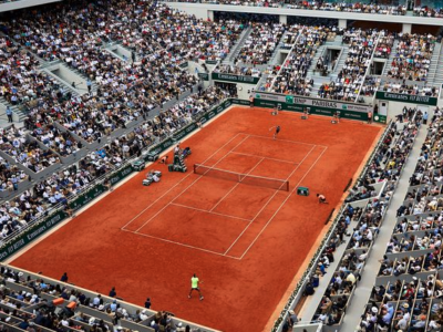 Central court of Roland Garros - French tennis Grand Slam