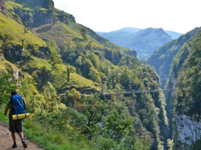trekking in the Pyrenees in the Basque Country