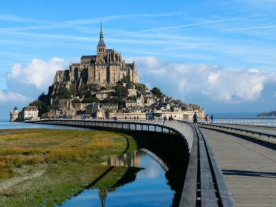 View of the Mint Saint Michel