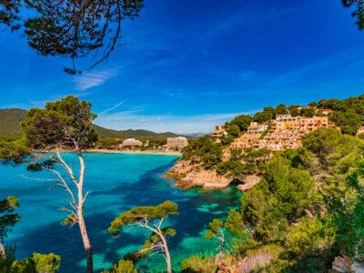 Coast of the island of Majorca