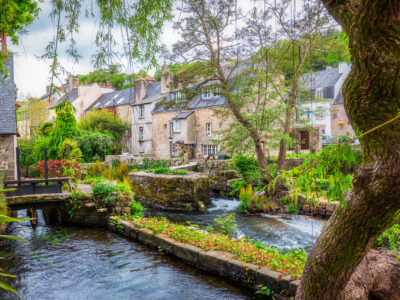 View of Pont Aven in Brittany